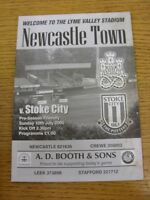 10/07/2005 Newcastle Town v Stoke City [Friendly] . Thanks for viewing our item,