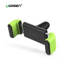 Soporte coche movil ajuste doble hasta 7 pulgadas Ugreen giro 360 grados verde