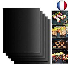 Tapis de Cuisson Barbecue,4 pièces 40*33cm ,Pratique pour les barbecues mais