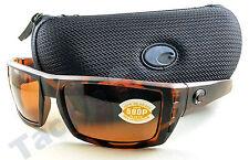 Costa RFL66OCP Rafael Sunglasses 580P Copper Lens Retro Tortoise Frame!