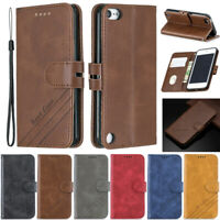 Luxury Wallet Leather Flip Stand Folio Case Cover For iPod Touch 5 5th 6 6th 7th