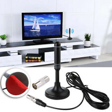 2018 UK Best Portable TV Antenna Indoor Outdoor Digital HD Freeview Aerial Ariel