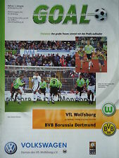 Programm 2000/01 VfL Wolfsburg - Borussia Dortmund