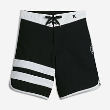 HURLEY BLOCK PARTY BOARD SHORTS - Size 10 (black/white)