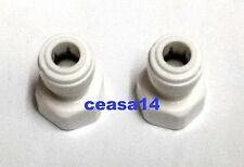 For RO Water purifier - Direct Inlet Valve 3/8'' - For Ro Water Purifier 2 Pcs