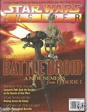 Star Wars Insider Issue #40 Dawn of the Battle Droid Preqel Photos Behind Magic