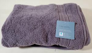 "CHARISMA 30""x 58"" 100% Hygro Cotton Loops Luxury Bath Towel Brand New Lavender"