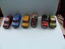 Corgi, Dinky Minis x 6 Cooper s Monte Carlo all original.