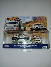 Hot Wheels Car Culture Team Transport Vw Baja Bug Wide Open Truck