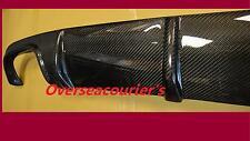 For Benz W211 E55 AMG 2x2 Real Rear Carbon Fiber Rear Diffuser 2002-2006 STC