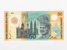 """Malaysia, Bank Negara """"""""Commemorative"""""""", 50 Ringgit KNB49 1998 # KL/98 330 456"""