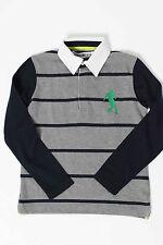 %SALE% Bikkembergs Kids Poloshirt 28 grau/blau Gr. 116-152 NEU