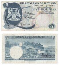 Royal BANK OF SCOTLAND Ltd £ 5-BYB ref: SC816a-F +/In perfatta condizione.
