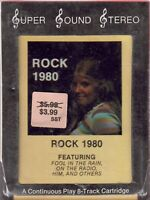 "ROCK 1980 8-TRACK TAPE - STILL SEALED (""NEW OLD STOCK"")"
