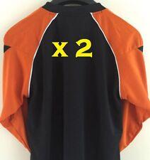2 x Football Goalkeeper Shirt Goalie Goal Keeper Padded Elbow Manchester   5d