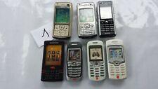 1/ Lot 7 téléphones portable FACTICES vintages. 6 SONY et 1 NOKIA