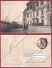 BRINDISI CITTÀ 45 PORTO - NAVI Cartolina viaggiata 1918