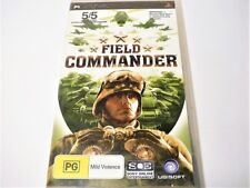 "FIELD COMMANDER PSP GAME R4 ""VGC"" AUZ SELLER"
