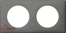 Plaque double gris perle Céliane Legrand 66602 Nouveauté 2017