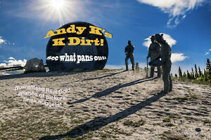 © Andy K's K-Dirt Black Sand Challenge Pay Dirt With Guaranteed Gold