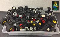 20x LEGO®  Reifen mit Achse, Räder, City, Auto, Polizei, Wheel