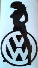 Chica Sexy Mujeres VW Golf Polo Beetle Pegatina de vinilo coche lateral Gráfico Calcomanía Chicas