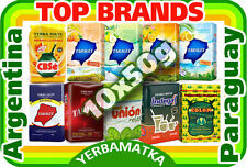 "Yerba Mate set ""Find your own taste"" with 10x50g of different types and kinds"