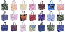 10 PC Wholesale Lot Mandala Indian Women's Fashion Large Bag Purse Hobo Tote Bag