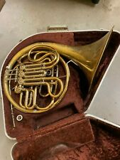 1970 Elkhart Conn 6D Double French Horn w/Case, Mouthpiece