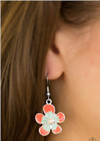 "NEW PAPARAZZI ""HAVANA HARMONY"" FLOWER EARRINGS"