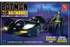 AMT Batman 1989 Batmobile with Resin Figure 1107 Plastic Model Kit