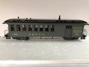 Accucraft 1:20.3 Combine Car D&RGW Green