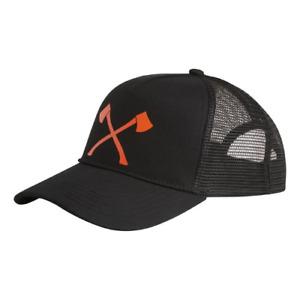 Cappello con visiera AXE arancione STIHL TIMBERSPORTS nero