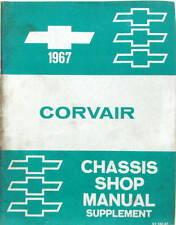1967 CHEVROLET CORVAIR CHASSIS SHOP  MANUAL SUPPLEMENT ORIGINAL EN ANGLAIS
