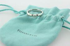 Tiffany & Co Etoile 0.22 D/VVS1 Solitaire Diamond Platinum Engagement Ring- 9.5