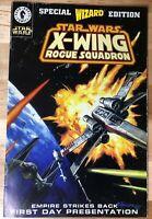 Star Wars X-Wing Rogue Squadron Wizard #1/2 - (1997) Dark Horse - Wizard Edition