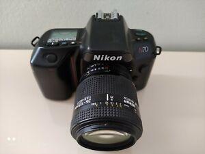 Nikon N70 Film Camera with AF Nikkor 35-105mm f=3.5-4.5 D Lens