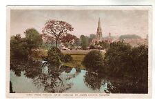 St John's Church - Taunton Photo Postcard 1927