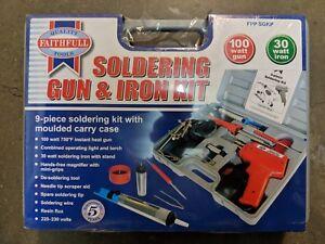 Faithfull FPPSGKP Soldering Gun & Iron Kit