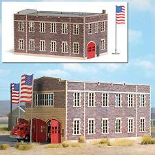 9732 Busch HO Kit of a Fire Department - NEW 2019