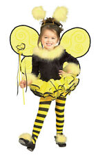 Toddler Bumblebee Girls Insect Halloween costume