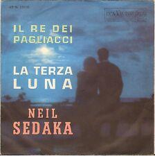 "NEIL SEDAKA ""IL RE DEI PAGLIACCI"" 60'S SP 6 RCA ITALIANA 45N 1309"