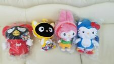 "Toynami Sonic x Sanrio Hello Kitty 10"" Plush: Sonic The Hedgehog Set of 4"
