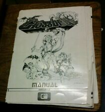 Exidy CROSSBOW Arcade Video Game Manual - good used original