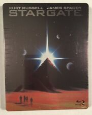 STARGATE Limited Edition Steelbook (Blu-ray+Digital Code) Brand New Sealed