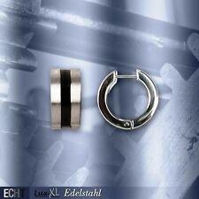 Mode-Ohrschmuck aus Edelstahl mit Schnappverschluss