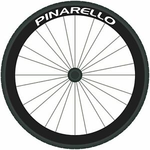 PINARELLO Decals Road Bike Wheel Rim Stickers Bicycle Fixie Race Cycle 700c