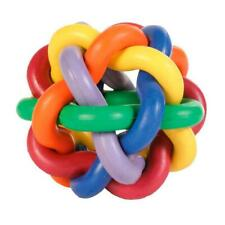 Trixie Knotted Ball Activity Fun Toy for Dogs, Natural Rubber Multicoloured 10cm