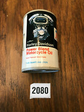 Vintage Collectible Harley Davidson Oil Can Radio