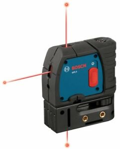 BOSCH GPL3 3-Point Self Leveling Professional Laser Level/Plumb GPL-3 BRAND NEW